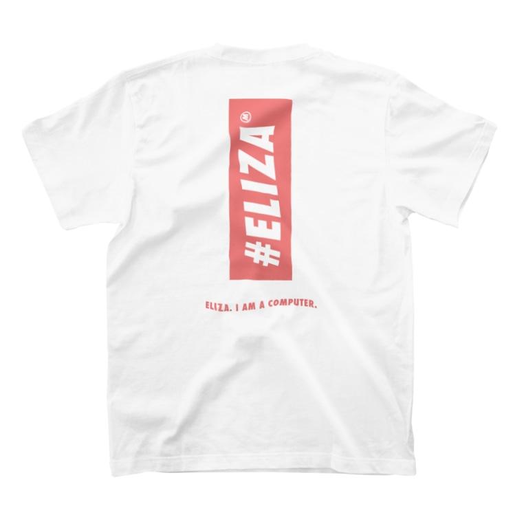 ELIZA COMPUTERのELIZA PINK Tシャツ T-shirtsの裏面