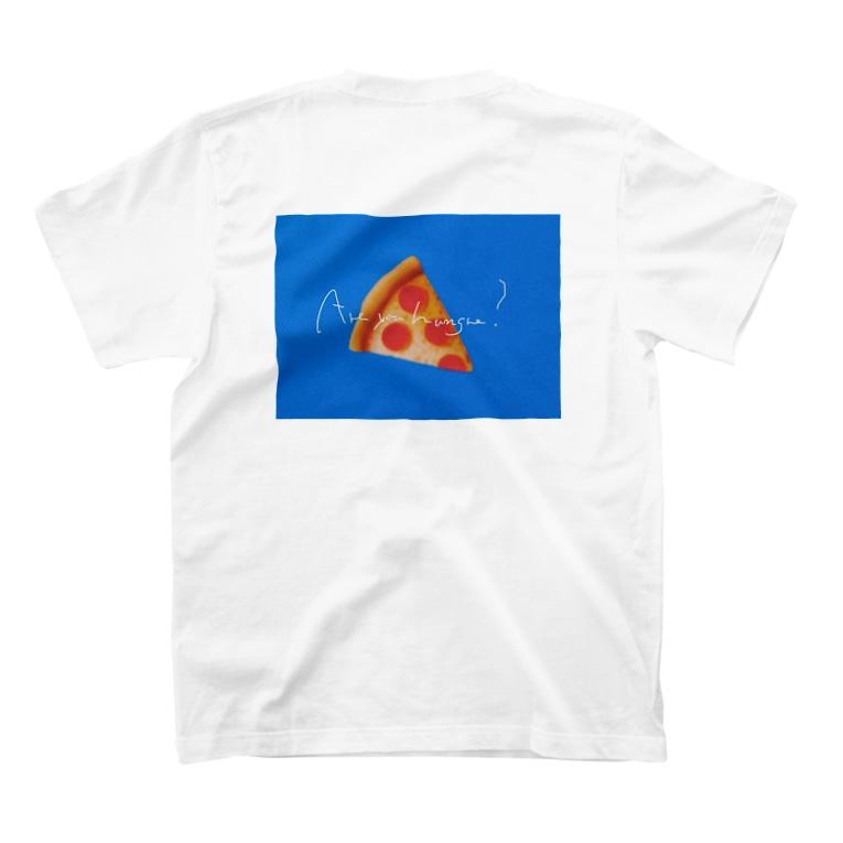 yoshinowatanabeの絵文字pizza T-shirts