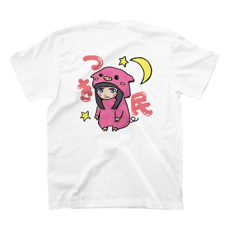 月丘つかさ🌙のつき民ロゴTシャツ T-shirts