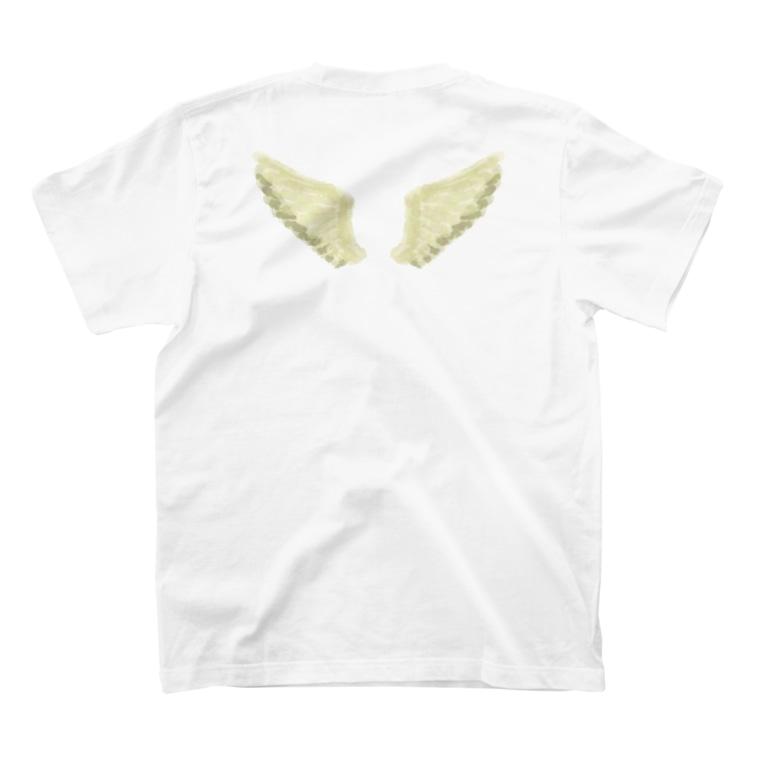 せきね まりのの天使の羽 T-shirtsの裏面