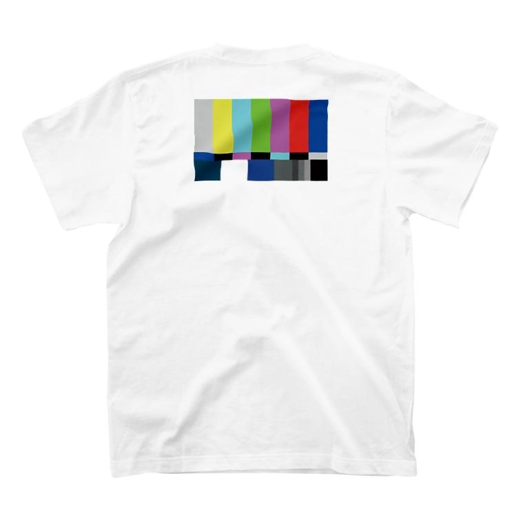 GEMENI-XのGEMENI-09[Test pattern](W) T-shirtsの裏面