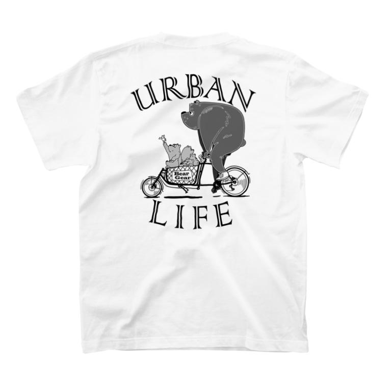 "nidan-illustrationの""URBAN LIFE"" #2 T-Shirtの裏面"