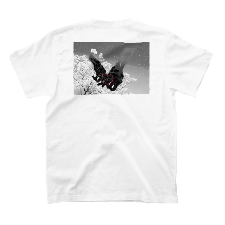 RMk→D (アールエムケード)の「運命」 T-Shirtの裏面