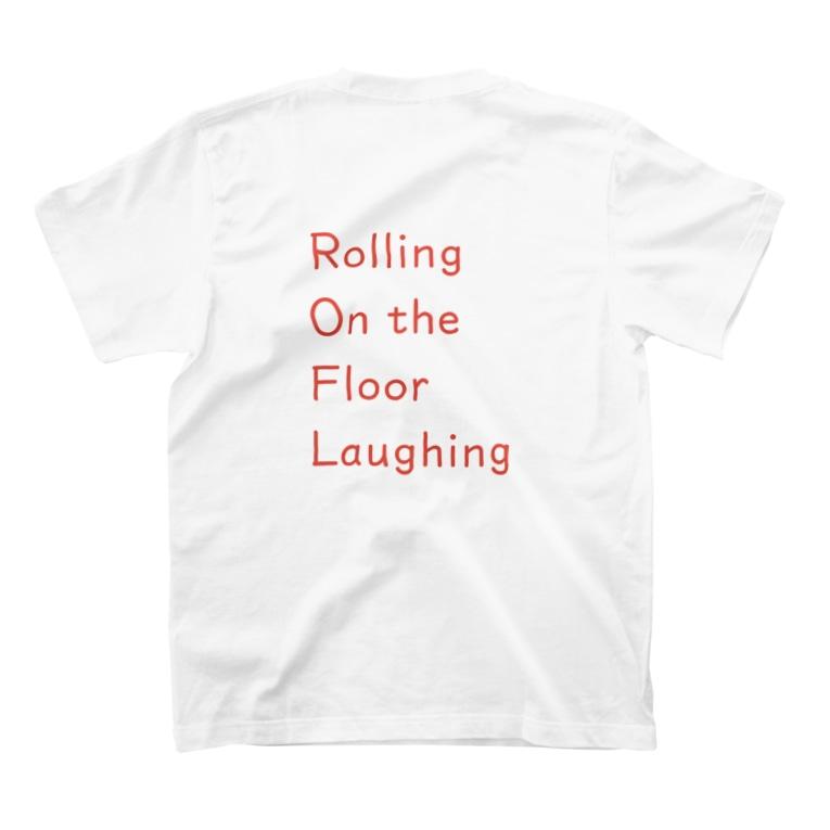 nanairoのROFL / バックプリント T-shirts
