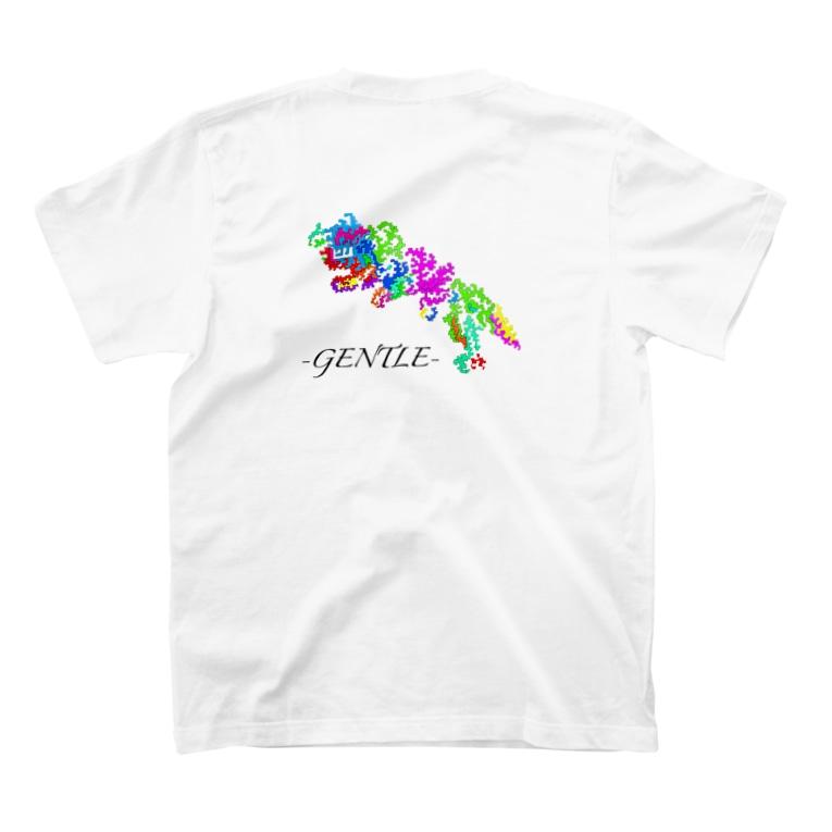 -GENTLE-(ジェントル)の①④勇気 T-shirtsの裏面