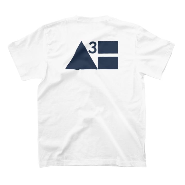 Waterhuman Inc.の【2021年夏モデル】公式Tシャツ(白) T-Shirtの裏面