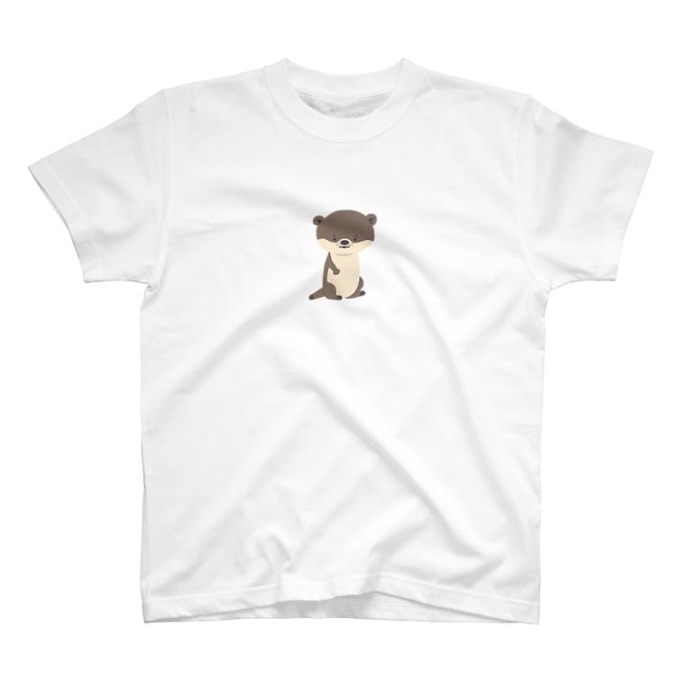 hibikのコツメカワウソ T-shirts