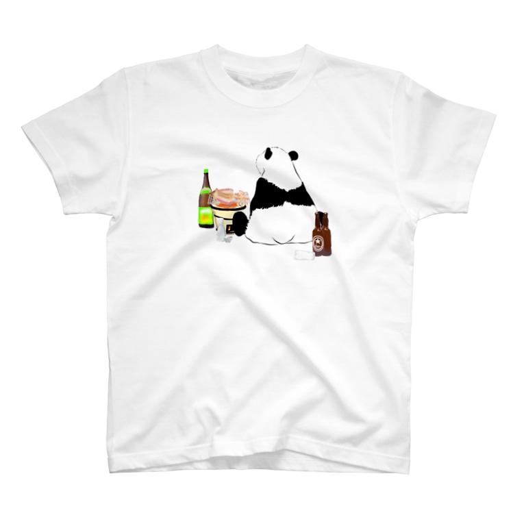 KaNaN〜パンダの晩酌パンダ🐼 T-Shirt