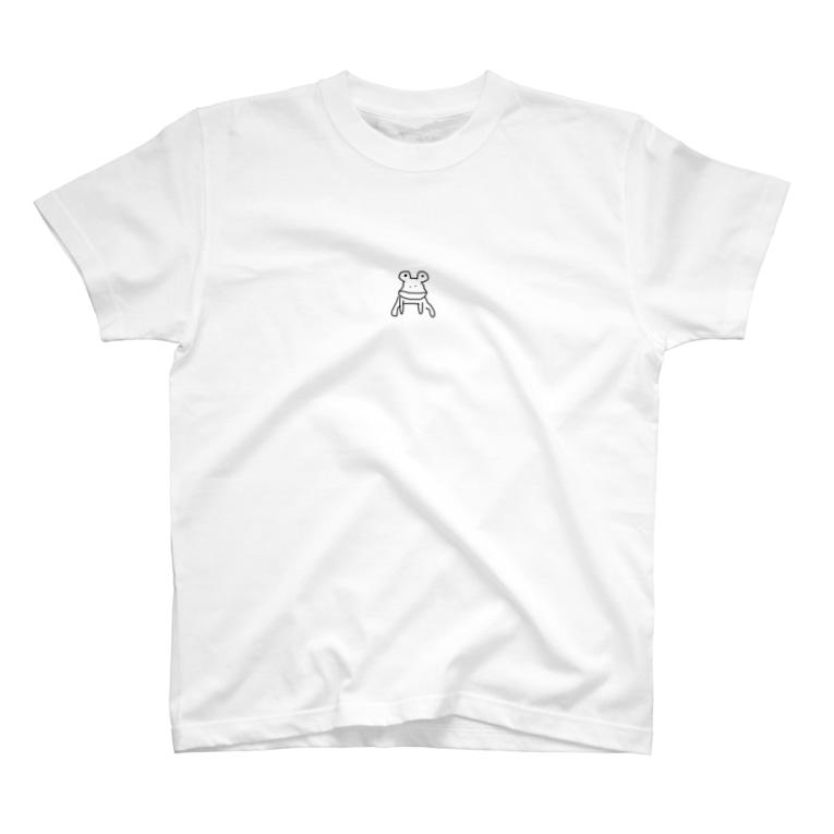サーモン田中洋真のかえるさん。 T-shirts