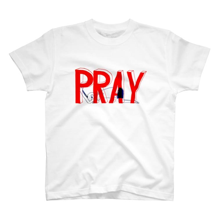 坂田 機械のPRAY T-Shirt