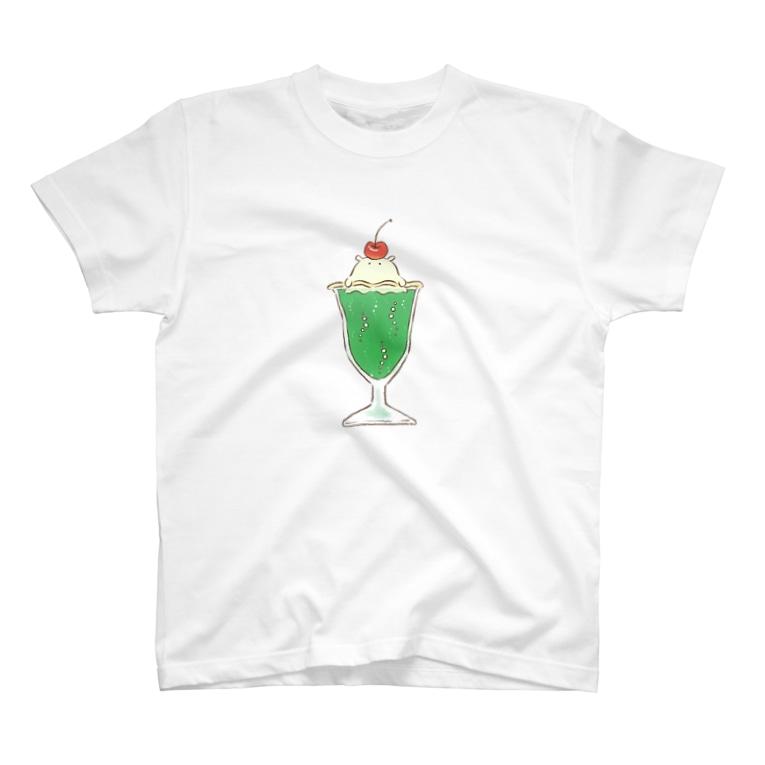 月と森のメロンクリームソーダコ T-Shirt