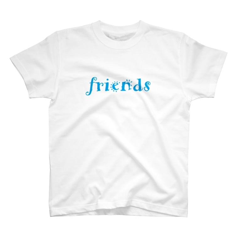 We are FRIENDS!のWe are friends T-shirts