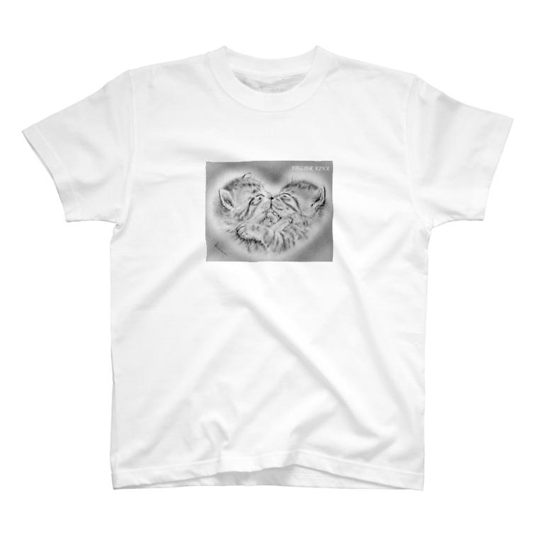 ATELIER KINAの「二人」―幸せ― T-shirts