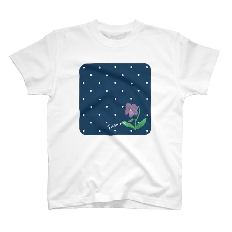 skerryのちいさい花 スミレ T-Shirt
