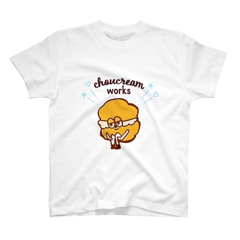 モリシタアイミのシュークリームくん (淡いカラー向け) T-shirts