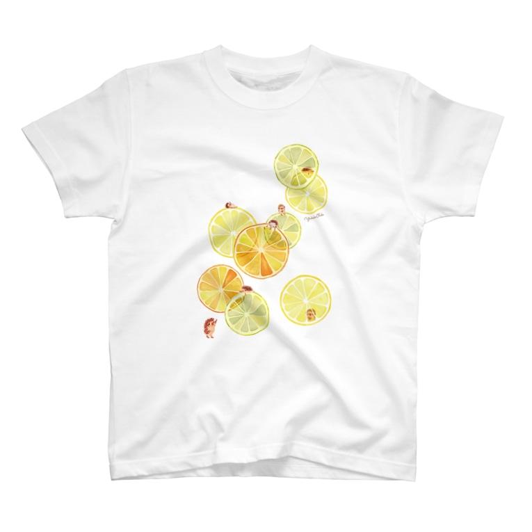 イラストレーター おおでゆかこのcitrus T-shirts