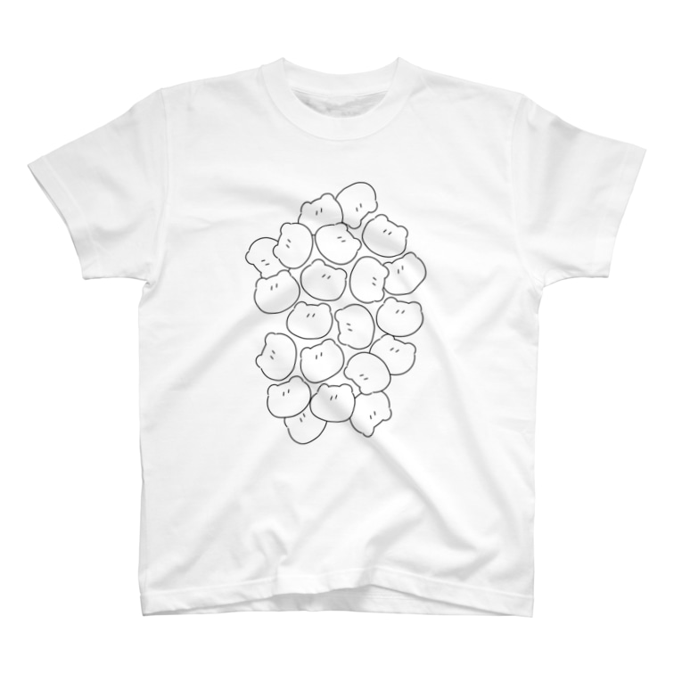 ▷            chiroruのtumetume no kuma T-shirts