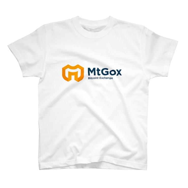 暗号資産【仮想通貨】グッズ(Tシャツ)専門店のMtGox T-shirts