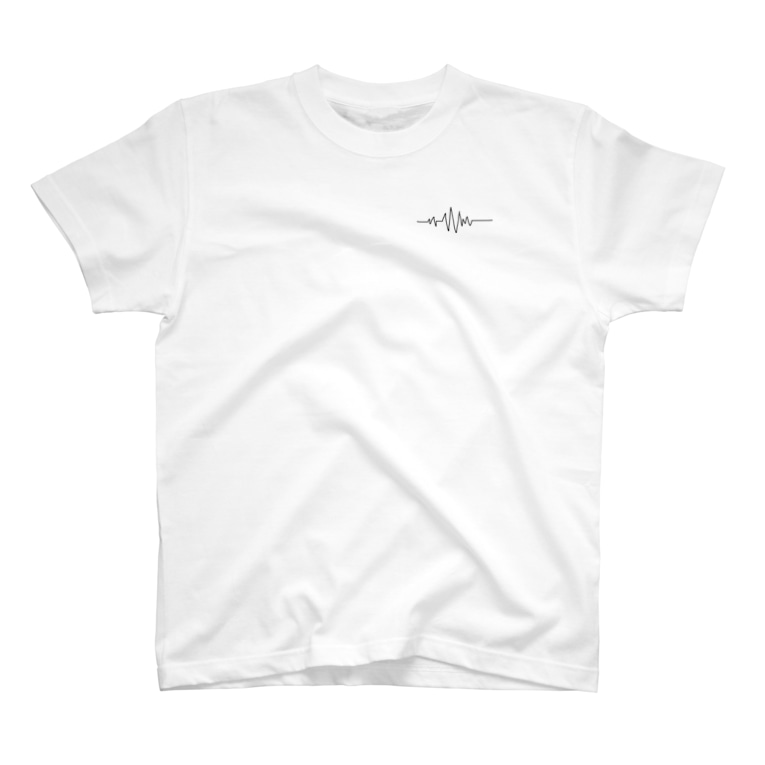 naruの音波(白) T-shirts