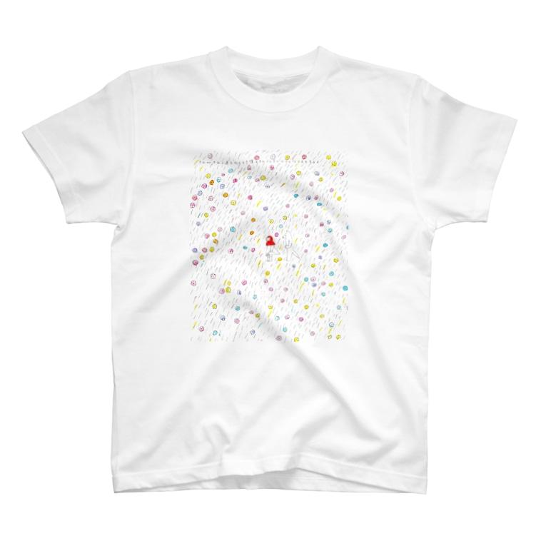 サイレンと犀/たやすみなさいのきみがきみの道を向くとき僕はそのうしろで小さくならえをするよ T-shirts