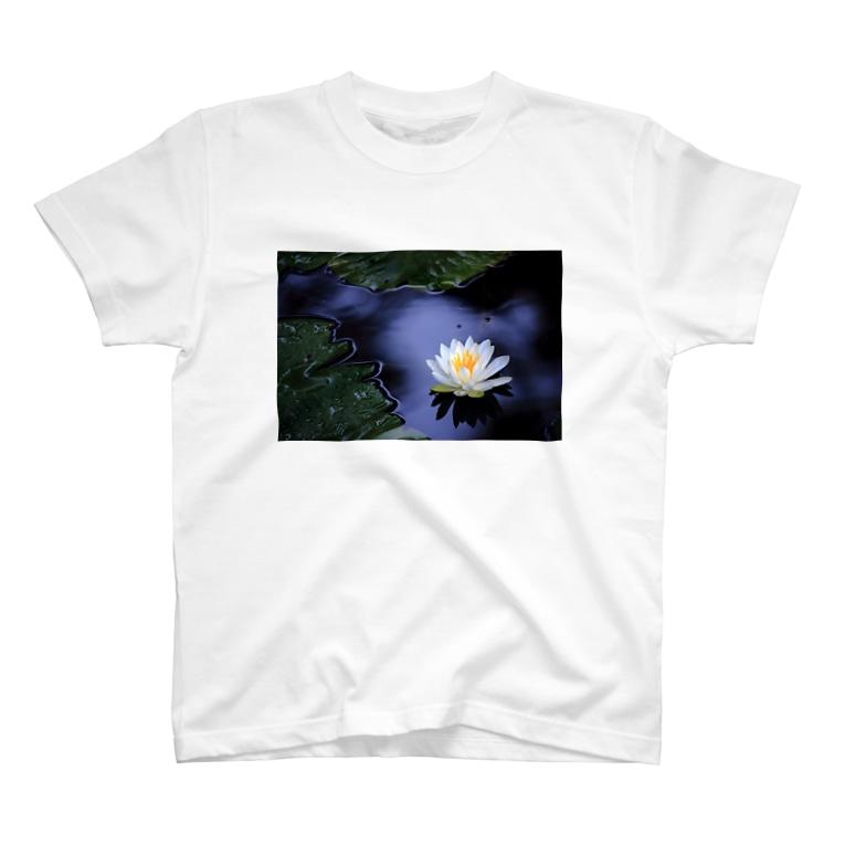 M.F.Photoの睡蓮 T-shirts