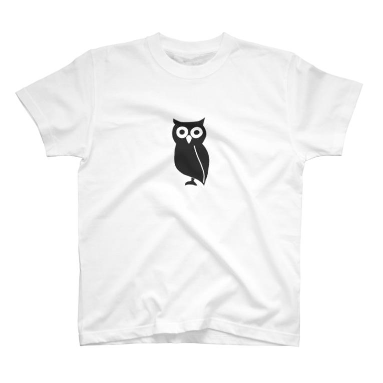 ふぉーとくるのOwl Goods T-shirts