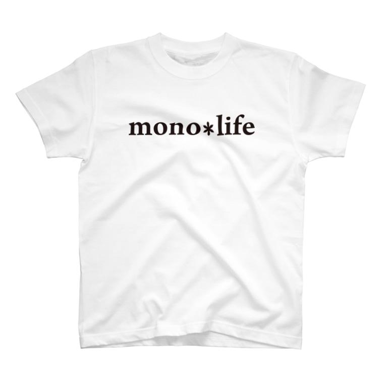 キャンプバカヤロウのmono*life T-Shirt