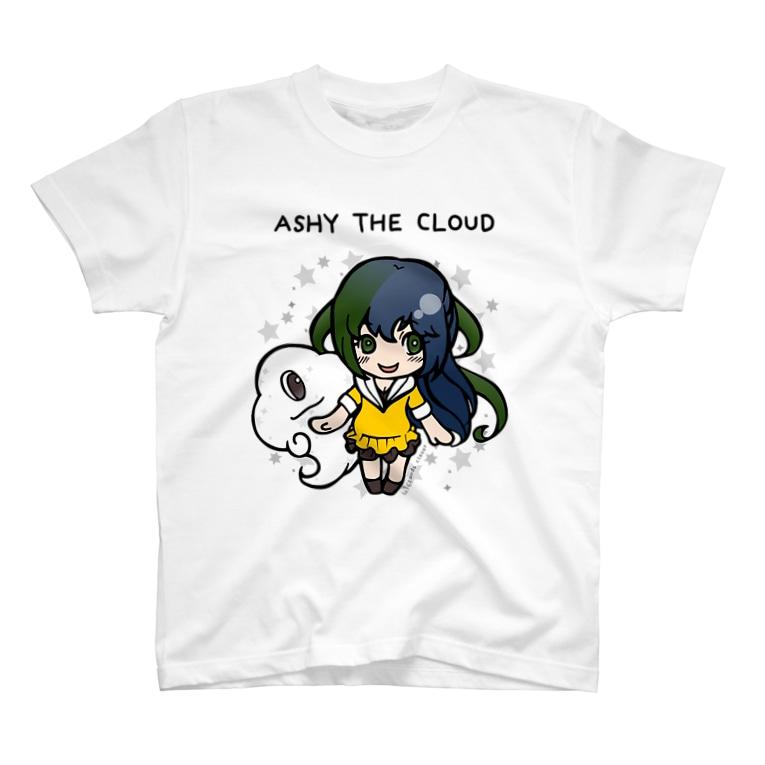 ◆まみどり◆の雲とおんなのこ T-shirts