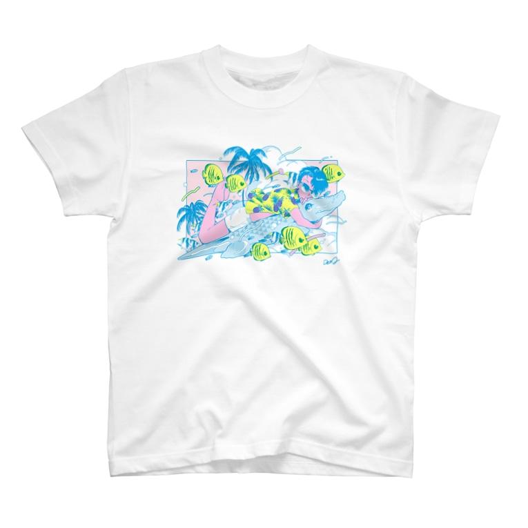 電Qのバカンス T-shirts