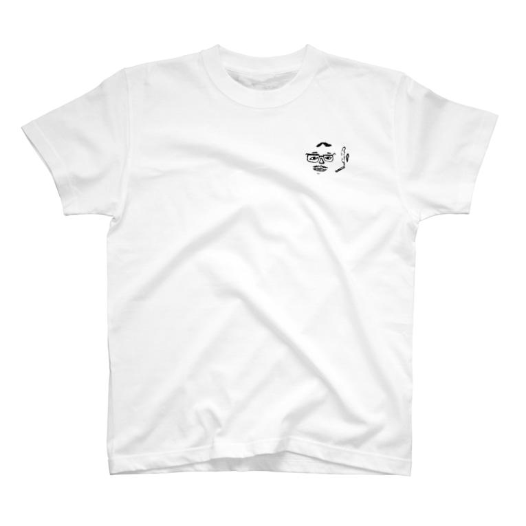 息子の父です(30)のたばこ吸うおじさん T-shirts