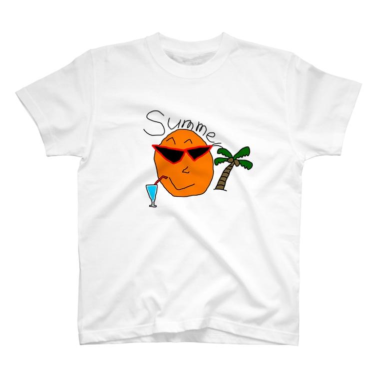 おめでとう(2年目)の【夏限定】サマーバージョンおめT T-shirts