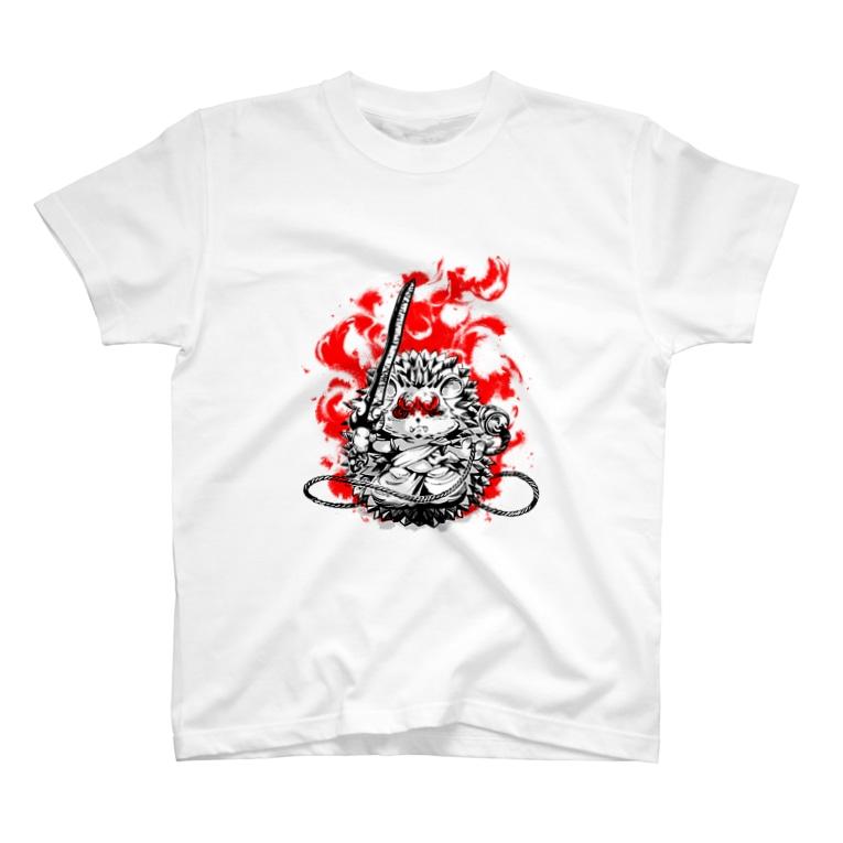 sanjyosisiの不動明王【針鼠】 T-shirts
