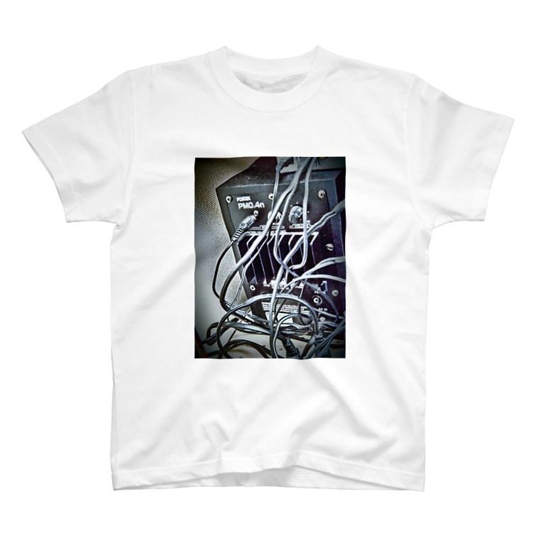 Tシャツ&雑貨のスピーカー(黒) T-shirts