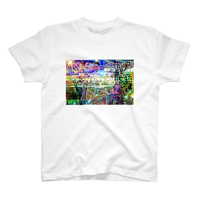 RukbatのWeb Color City T-shirts