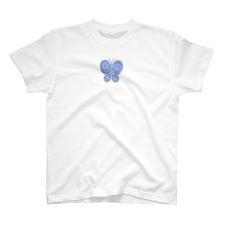 maimadeのOne point Butterfly T-shirts