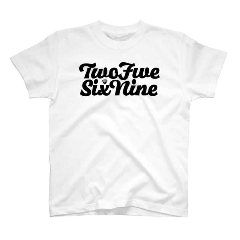 NicoRock 2569のTwoFive2569SixNine T-shirts