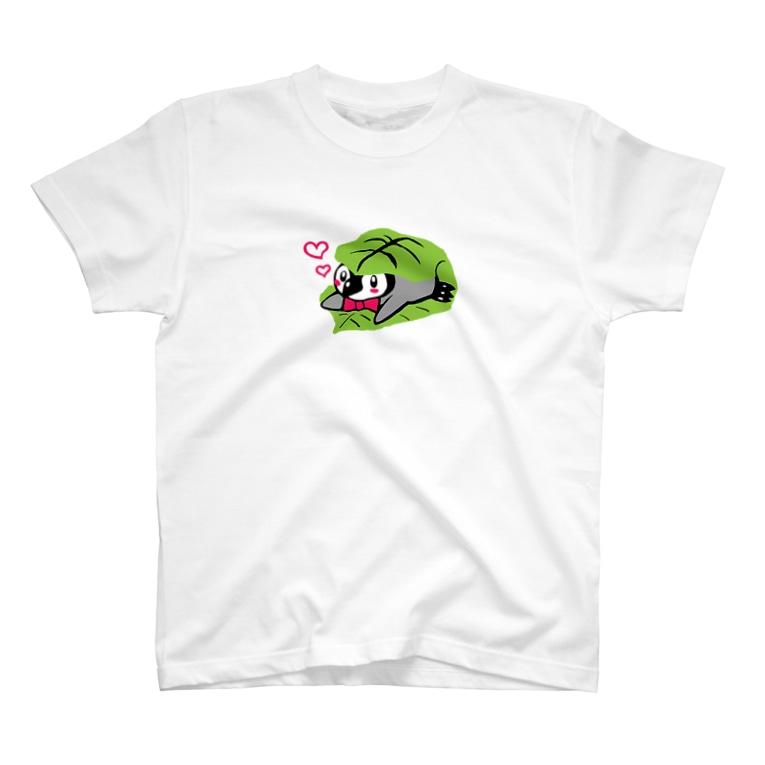 るりんごむのかしわもちぺんぎん T-shirts