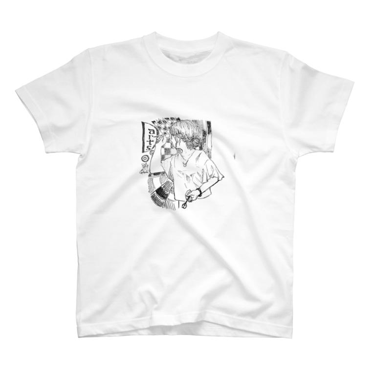 mochi's shopのdartsgirl T-Shirt