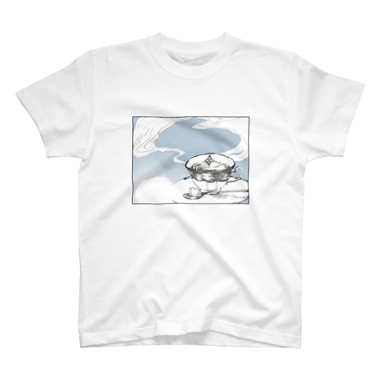 物部書房の『拡がる』 T-shirts