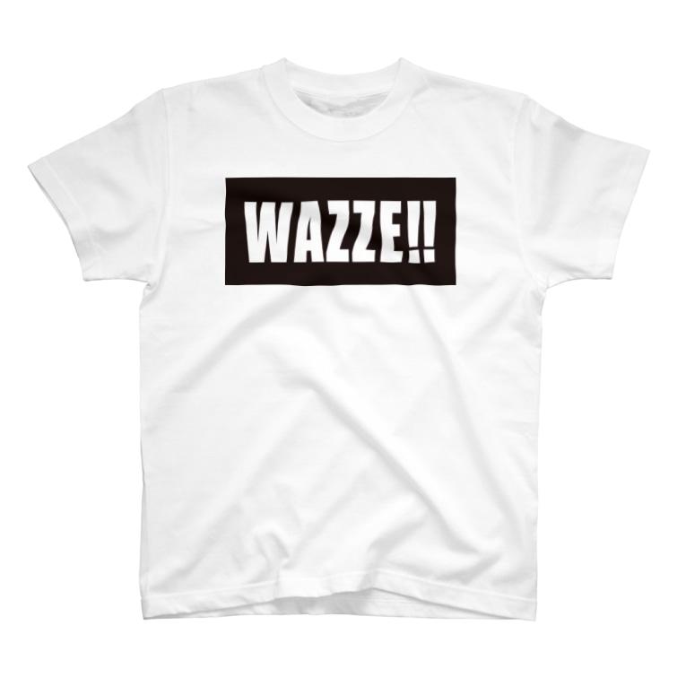 鹿児島弁Tシャツ「オモシテガ」のWAZZE T-shirts
