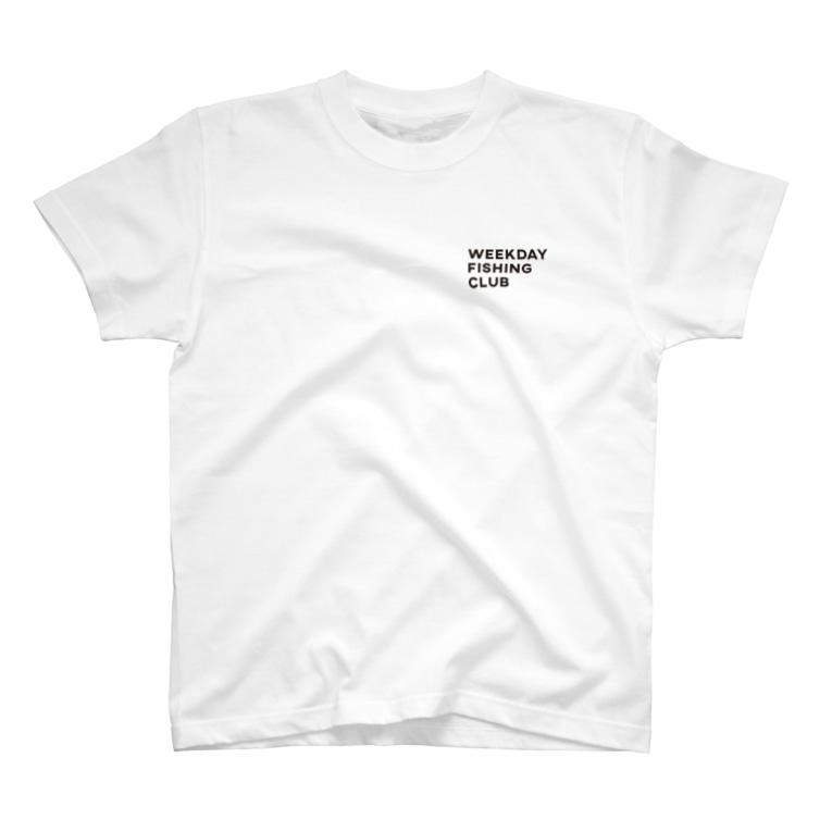 WEEKDAY FISHING CLUBのWEEKDAY FISHING CLUB ロゴT T-Shirt