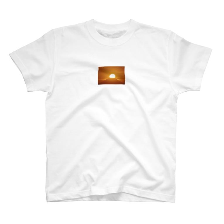 1234の太陽 T-shirts