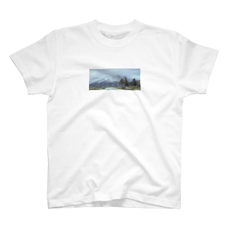 1234の山 T-shirts