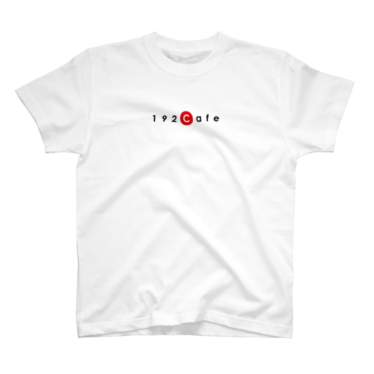 192Cafeの192CafeロゴTシャツ Red T-shirts
