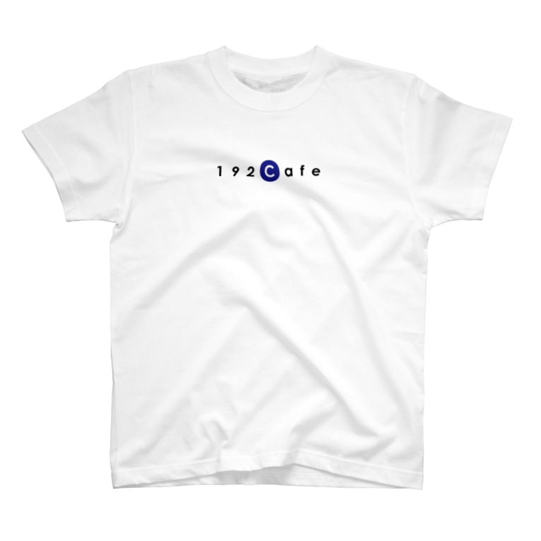 192Cafeの192CafeロゴTシャツ Blue T-shirts