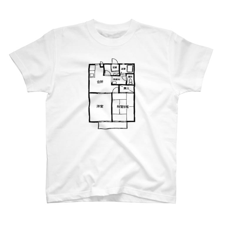 2DKの住民のまどり2DK T-shirts