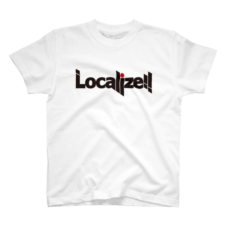 block.fmのLocalize!! T-shirts