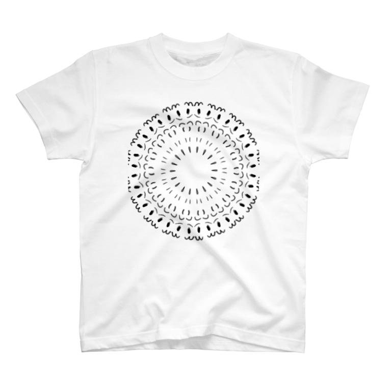 猫ニャンのお店(*´ω`*)の謎の模様(  ^∀^) T-shirts