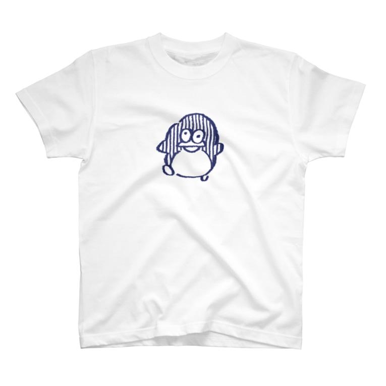 ぴよたそ商店のペンギンさん T-shirts