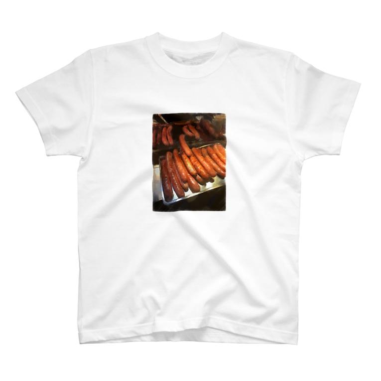 THE デブのデブT(ソーセージ) T-shirts
